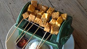 Tempe & Tofu Satay