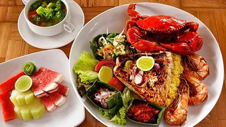 Seafood platter B