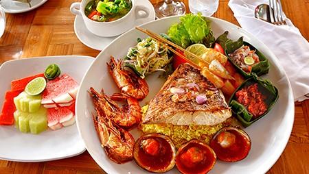 Seafood platter C